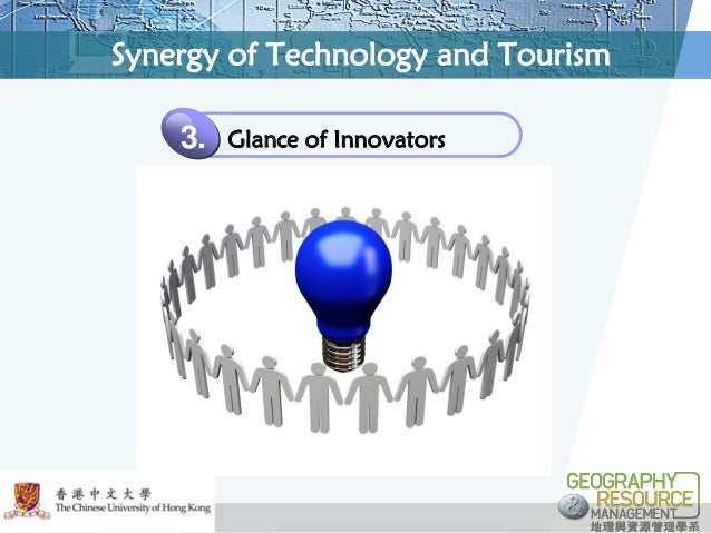 technology and tourism The application of technology in tourism, whether it be in the vacation-planning process or during the actual vacation, is changing the entire travel industry according to think with google's '5 stages of travel,' the average traveler visits about 22 travel-related sites prior to booking a vacation .
