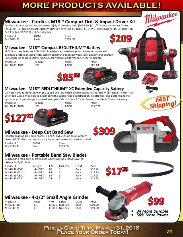 Synergy Supply Q1 2016 Price Buster Flyer