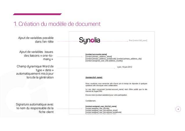 synogeneratedoc  module de g u00e9n u00e9ration de documents avec sugarcrm par
