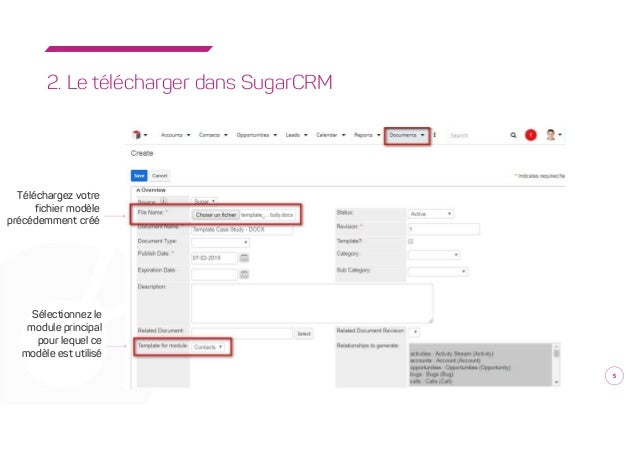 synogeneratedoc  module de g u00e9n u00e9ration de documents avec sugarcrm par