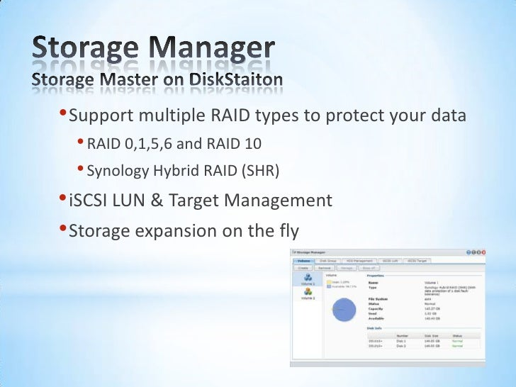 Synology product training - DSM introduction