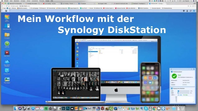 Mein Workflow mit der Synology DiskStation