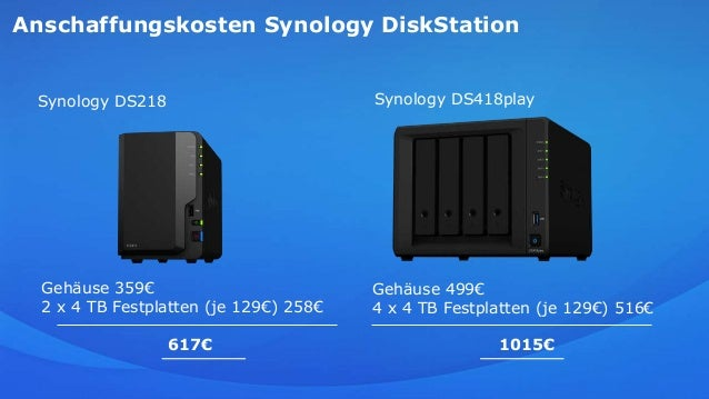 Mein Workflow mit der Synology Diskstation