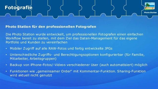 Die Photo Station wurde entwickelt, um professionellen Fotografen einen einfachen Workflow bereit zu stellen, mit dem Ziel...