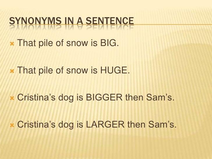 Printables Example Of Synonym synonyms antonyms synonyms
