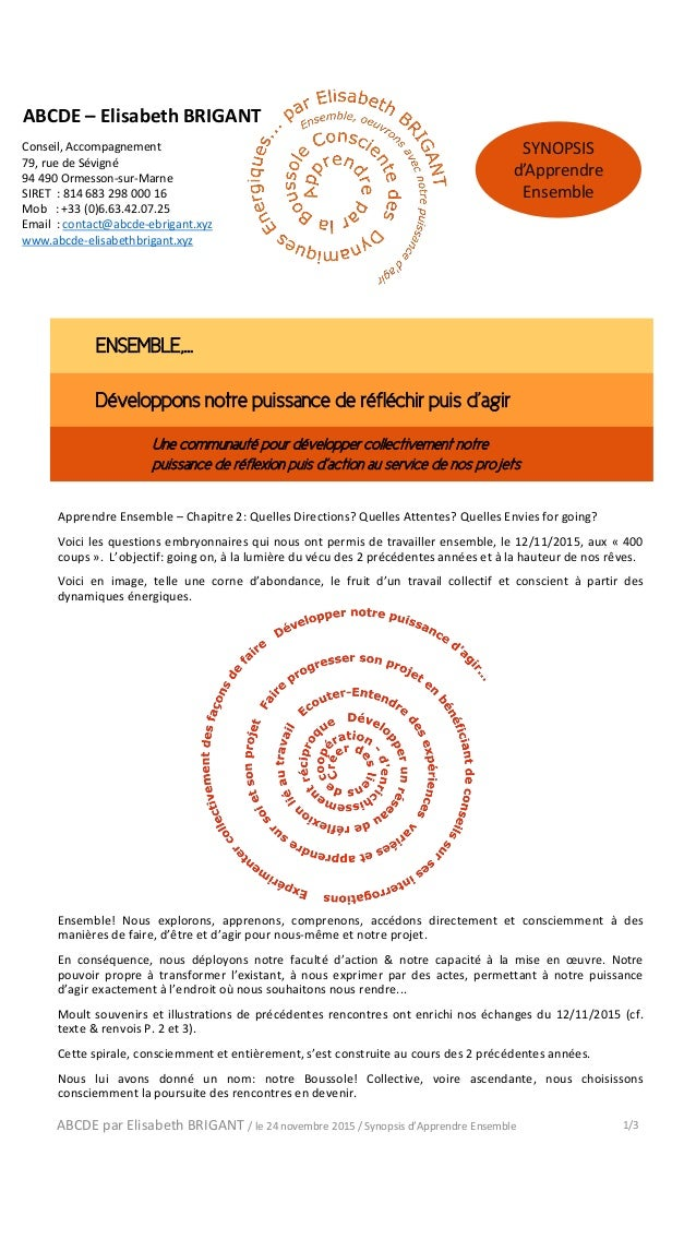 Conseil, Accompagnement 79, rue de Sévigné 94 490 Ormesson-sur-Marne SIRET : 814 683 298 000 16 Mob : +33 (0)6.63.42.07.25...