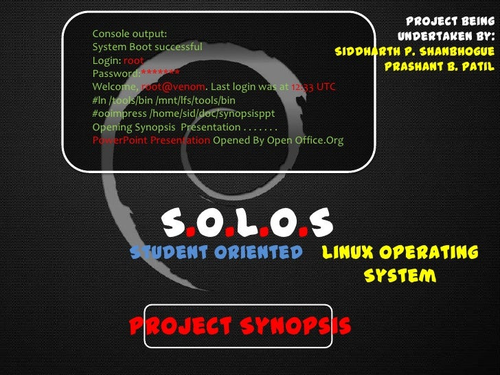 Project SOLOS