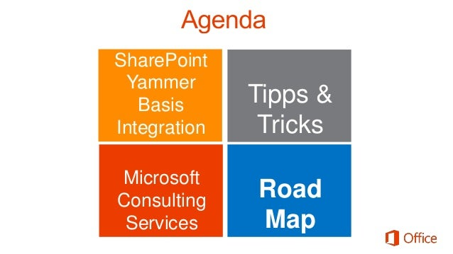 Yammer Guidance Yammer & SharePoint On-Prem Integration Yammer for CRM Yammer Default in Office 365 Yammer App for SharePo...