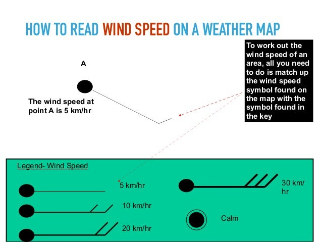How To Read Wind Speed On A Weather Map.Synoptic Charts
