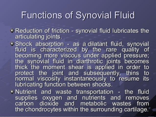 Synovial Fluid Examination