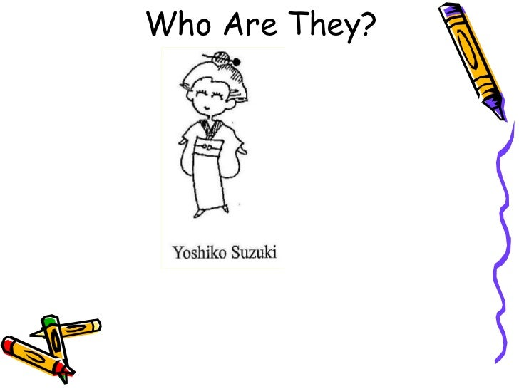 Who Are They?<br />