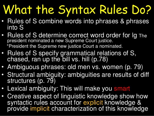 syntax structural relations Database of example international relations essays - these essays are the work of our professional essay writers and are free to use to help with your studies.