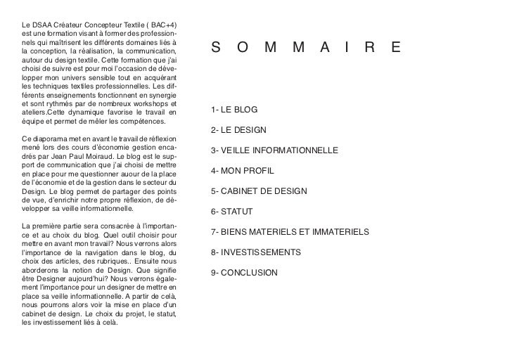 Le DSAA Créateur Concepteur Textile ( BAC+4)est une formation visant à former des profession-                             ...