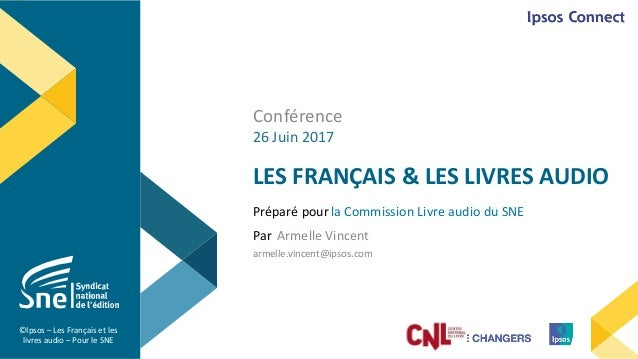 Les Francais Et Le Livre Audio