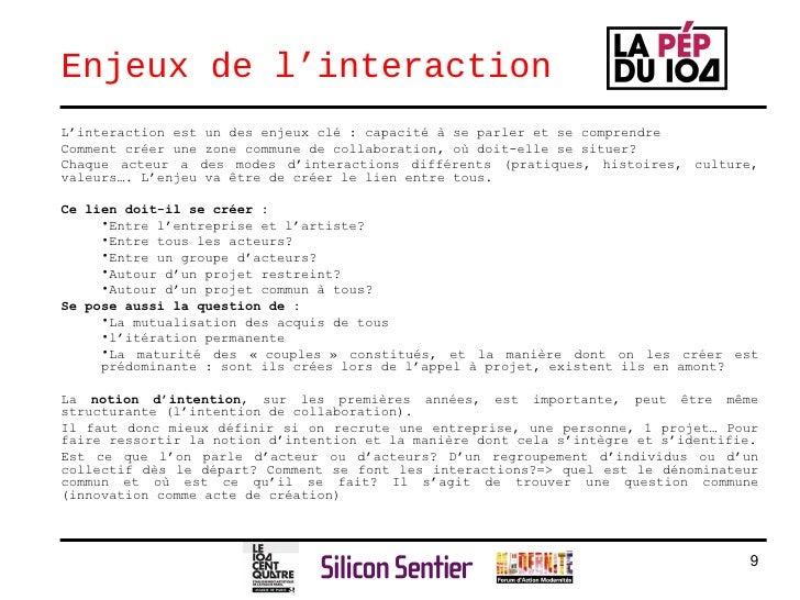 Enjeux de l'interaction <ul><li>L'interaction est un des enjeux clé : capacité à se parler et se comprendre </li></ul><ul>...