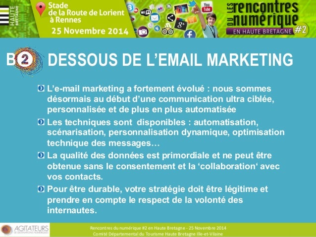 DESSOUS DE L'EMAIL MARKETING  #1 COLLECTER DES DONNÉES QUALIFIÉES  #2 QUALIFICATION ET QUALITÉ DE VOS BASES  #3 RESPECTER ...