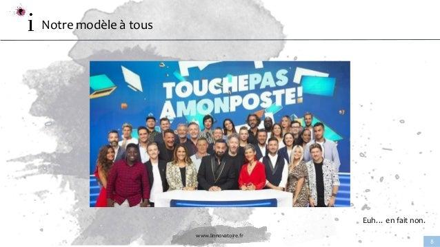 www.linnovatoire.fr 8 Notre modèle à tous Euh… en fait non.
