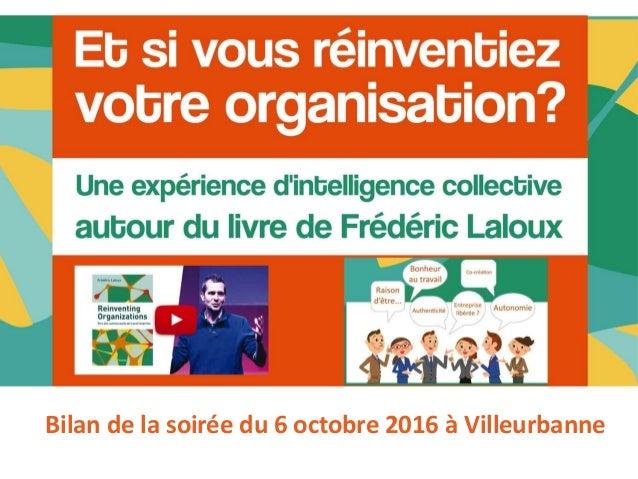 Bilan de la soirée du 6 octobre 2016 à Villeurbanne