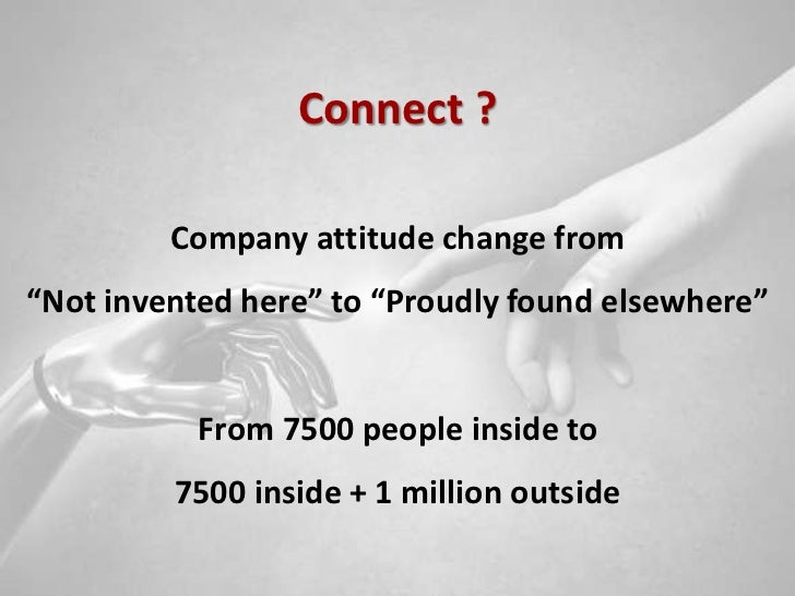 Connect and develop