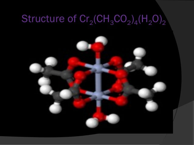 An experiment on the synthesis of chromium ii acetate hydrate