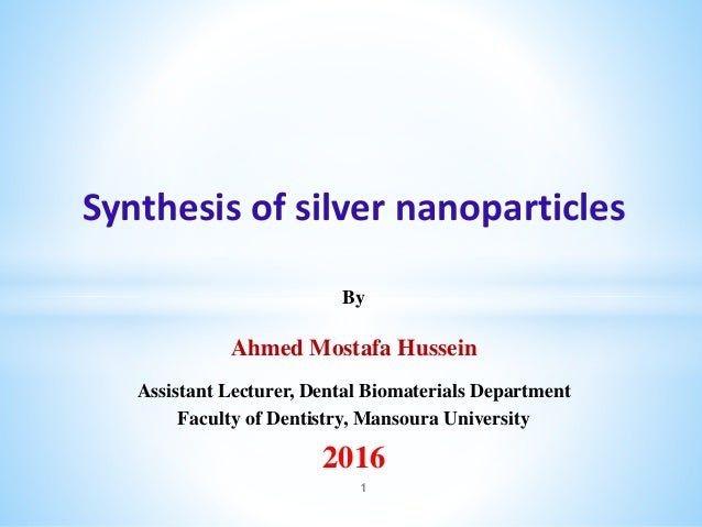 nanoparticles ppt free download