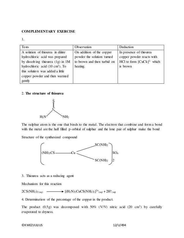 analysis of potassium cis diaquadioxalatochromate iii dihydrate synthesis Final report inorganic labwork synthesis cis-k of cis- potassium dioxalatodiaquochromate (iii) acid with potassium dichromate dihydrate in the cup.