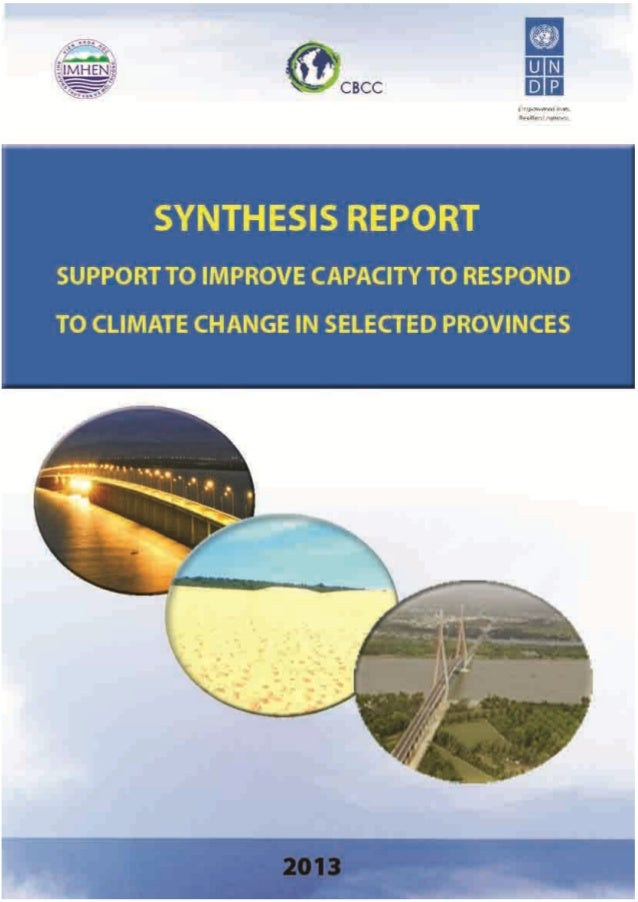 2 MINISTRY OF NATURAL RESOURCES AND ENVIRONMENT VIET NAM INSTITUTE OF METEOROLOGY, HYDROLOGY AND ENVIRONMENT SUMMARY REPOR...