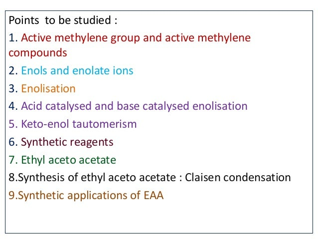 Synthesis via enolates