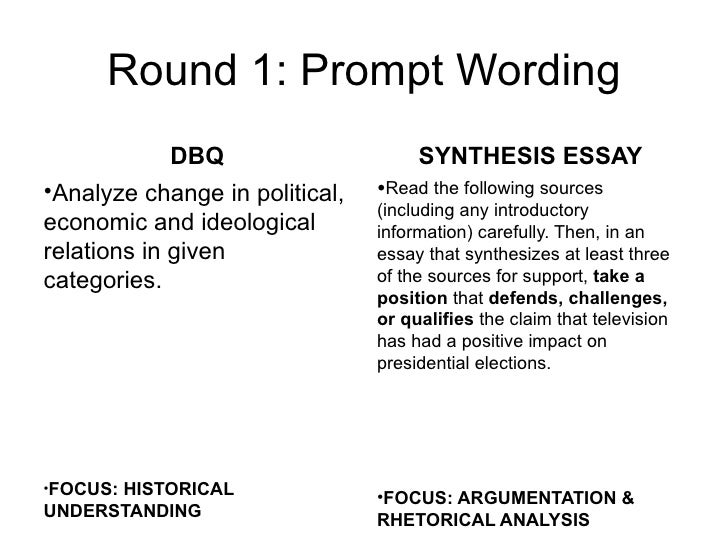 synthesis vs dbq dbq synthesis essaybull2004 french and n bull2005 television andwar political elections 7