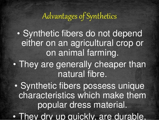 What are synthetic fibers?