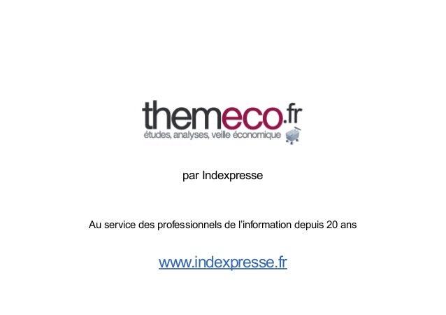 Information Sur Le March Ef Bf Bd De La Restauration Rapide