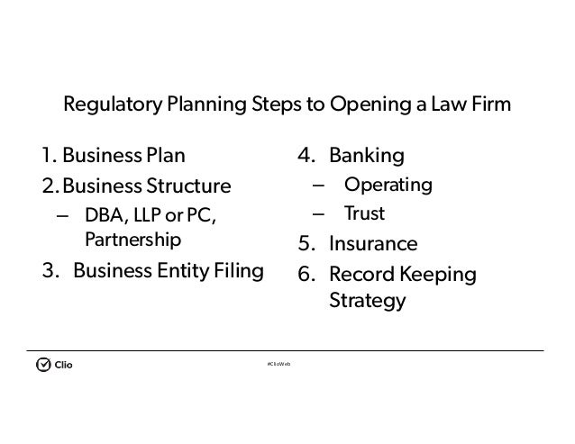 Solo law firm business plan