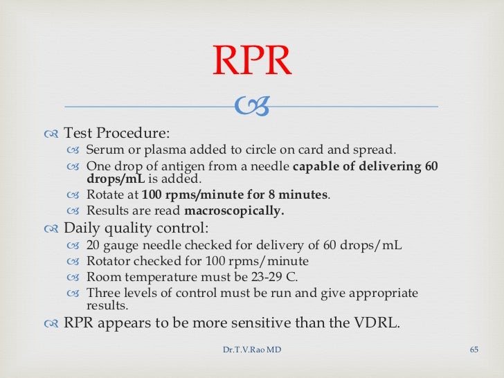 Rpr meaning