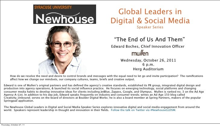 Global Leaders in                                                                                  Digital & Social Media ...