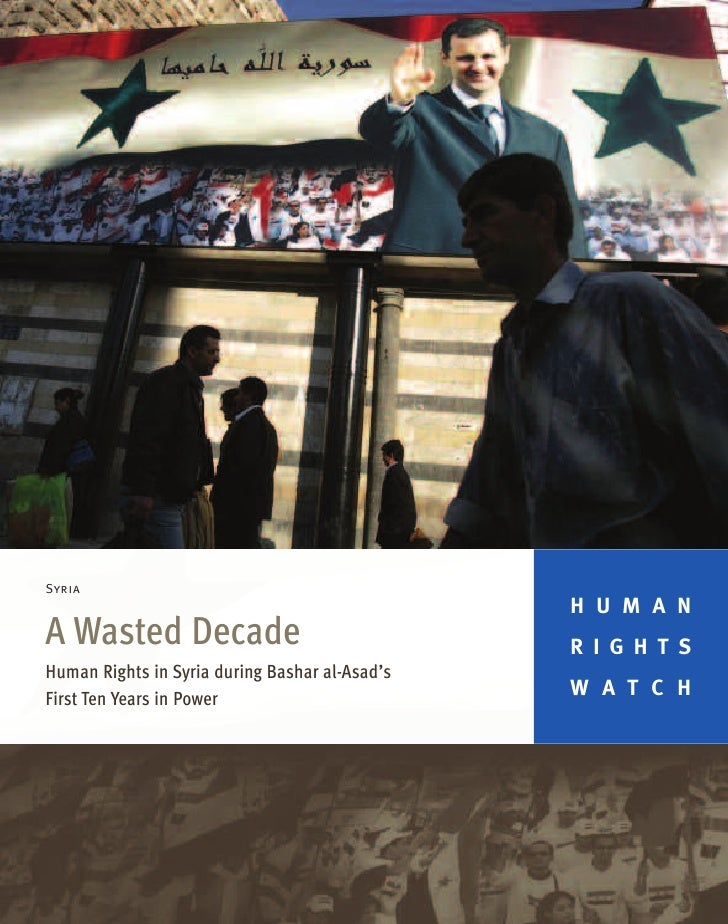 A Wasted Decade - Syria
