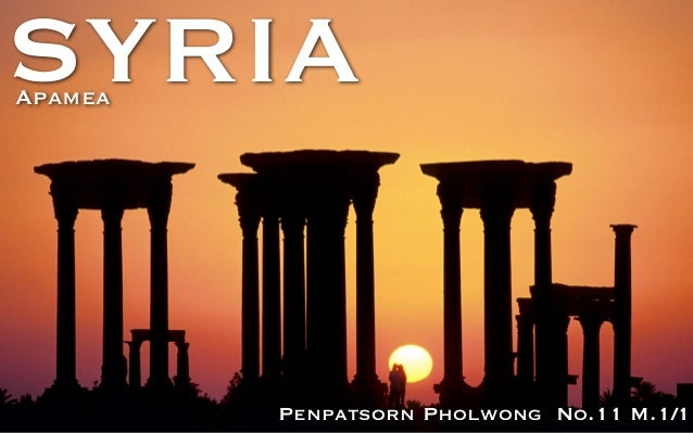 SYRIA Penpatsorn Pholwong No.11 M.1/1 Apamea