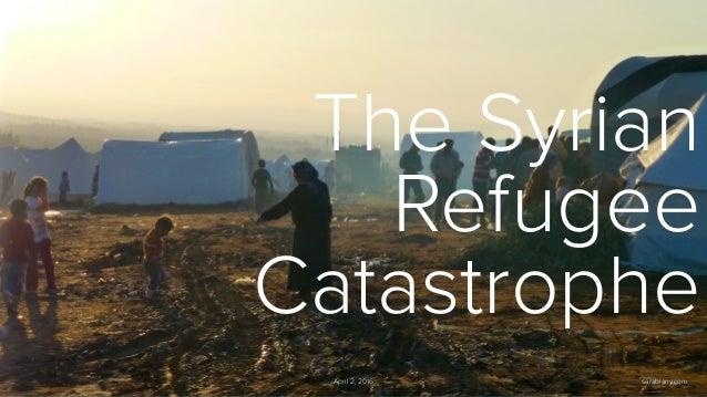 The Syrian Refugee Catastrophe April 2, 2016 sarabiany.com