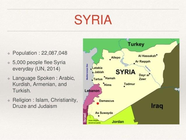 Syria presentation mr pp