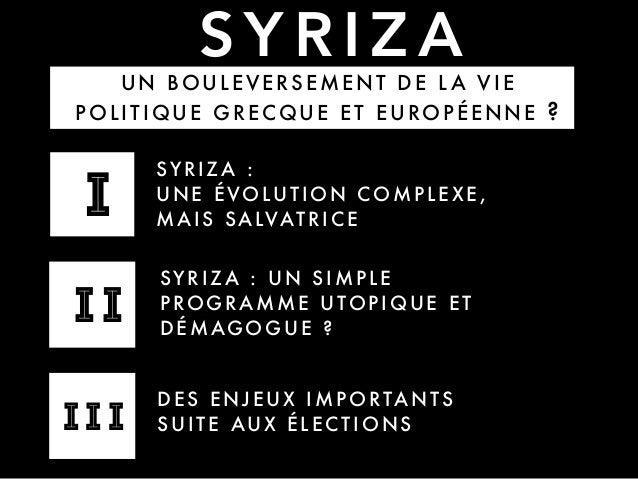 Syriza — Retour sur les élections grecques Slide 3