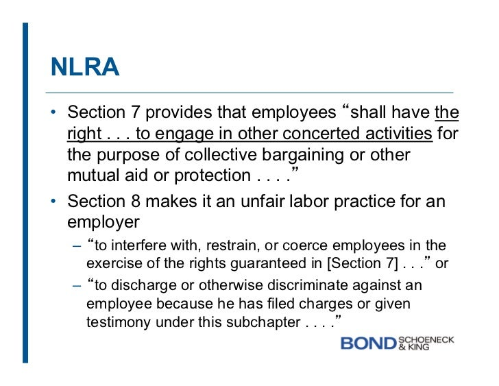 Section 7 Of The National Labor Relations Act 28 Images