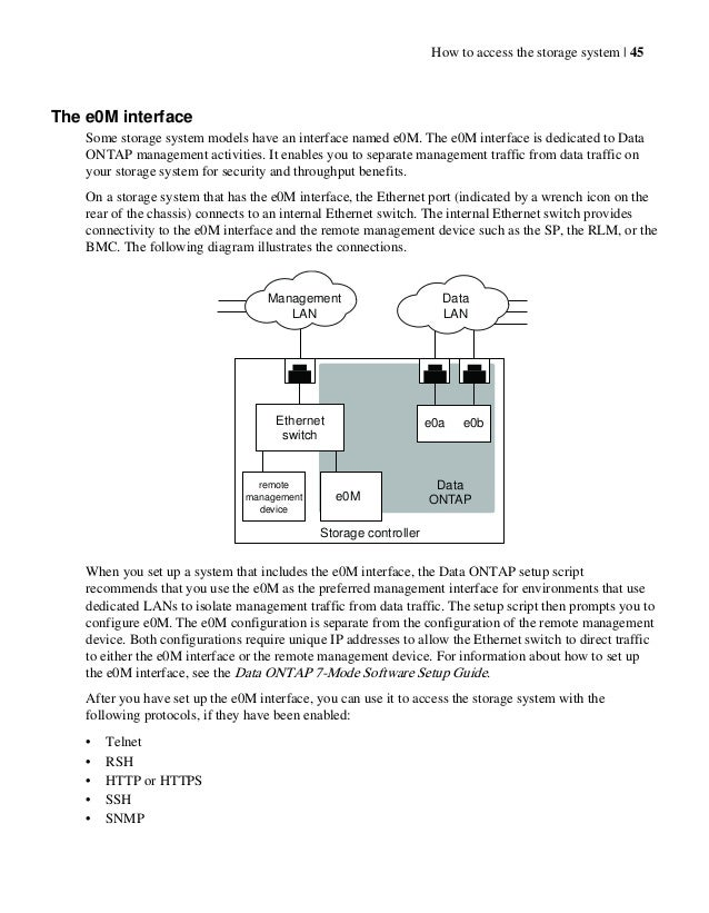 Netapp Data ontap administration Manual