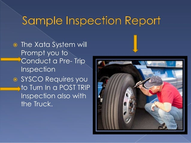 How to write a pre trip report for Federal motor carrier safety regulations handbook 2017 pdf