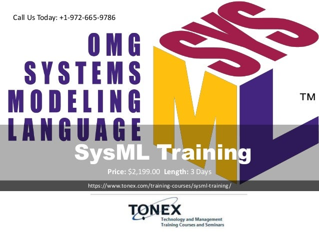 SysML Training - Systems Model...