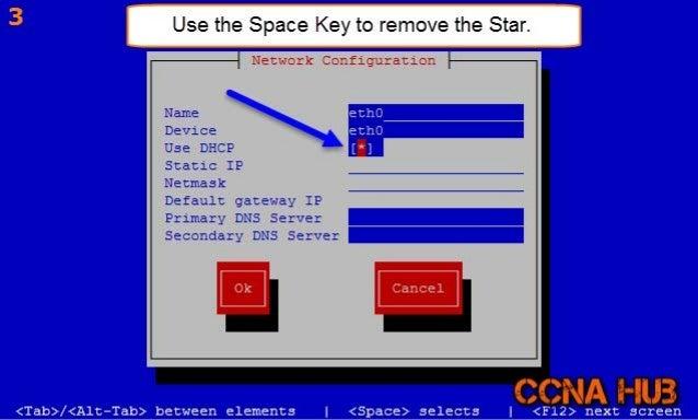 CentOS 6.7 System Config Network Tool Slide 3