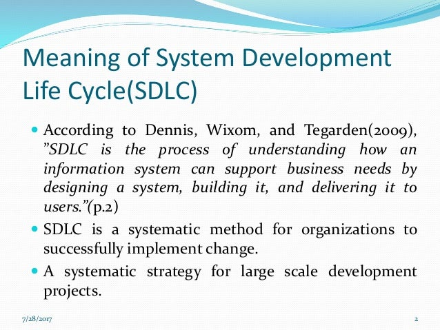System development life cycle sdlc types of sdlc for System development life cycle waterfall model