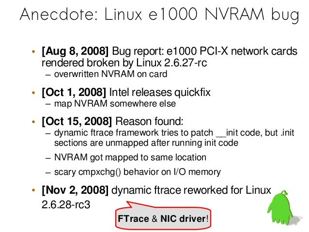 Linux Device Driver bugs[Dingo: Taming device drivers, 2009]
