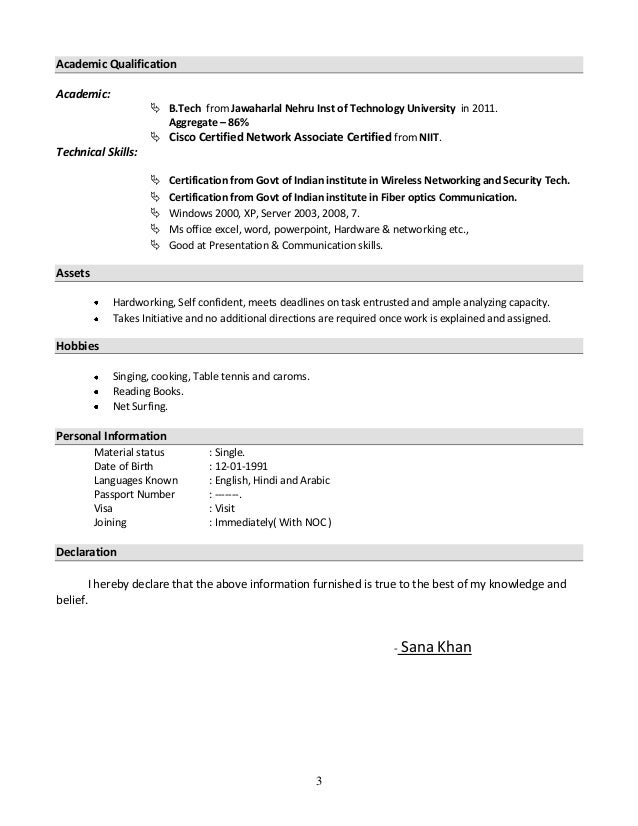 2 3 - Administrative Resume Samples