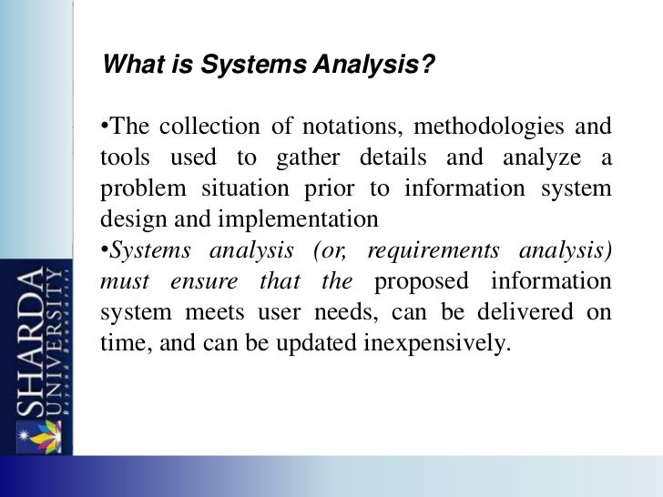 What Is Structured System Analysis And Design