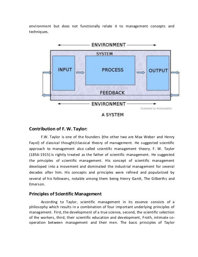 Process approach to management: the essence and basic principles