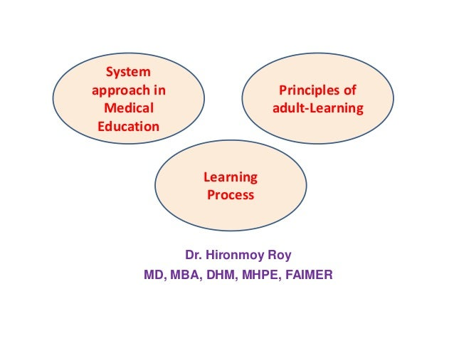 Adult learning system